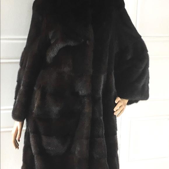 b2b1fa45d Tasha Tarno Mink Coat 8 NWT